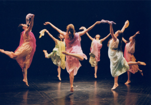 Mary Sano and her Duncan Dancers in 2000.