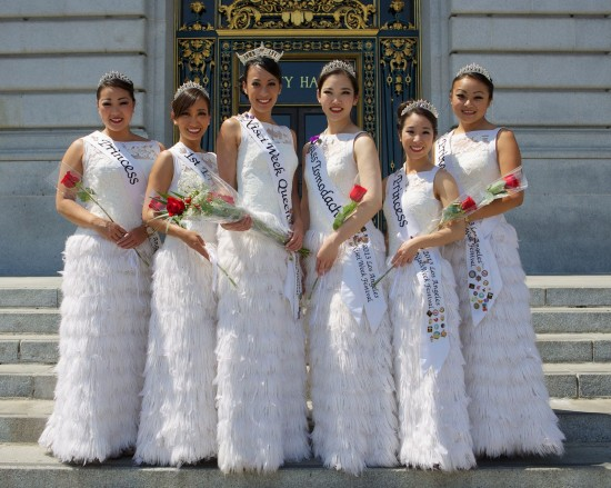 nisei week court at city hall
