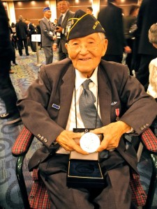 Roy Matsumoto at the Congressional Gold Medal celebration in Washington, D.C. in 2011.