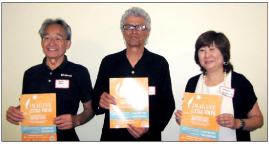 Ernest Nagamatsu (first place), Ruben Guevara (second place) and Satsuki Yamashita (third place).