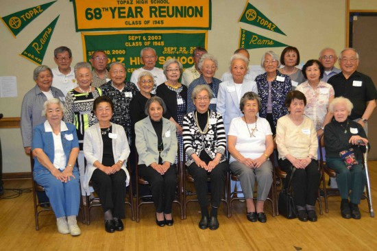 Participants in last year's 68th reunion.