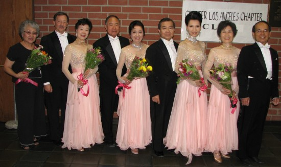Exhibition dancers at last year's event. (Rafu Shimpo photo)