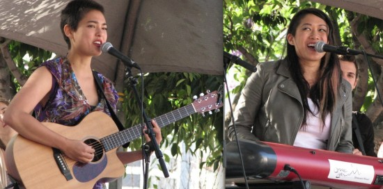 Left: Miya Folick. Right: Connie Lim.