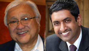 Rep. Mike Honda and Ro Khanna