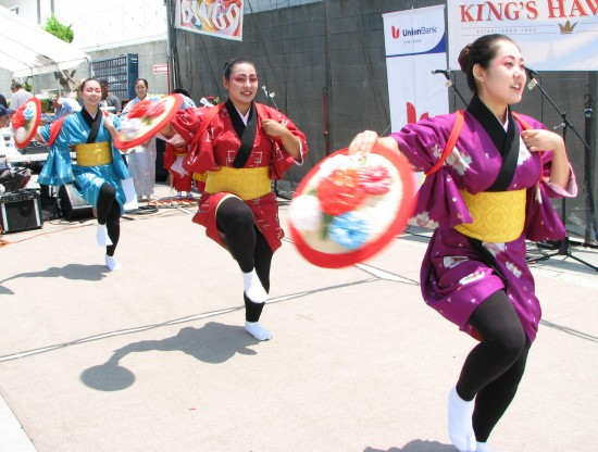Entertainment will include Japanese dance (above) and karate (below). (Rafu Shimpo photos)