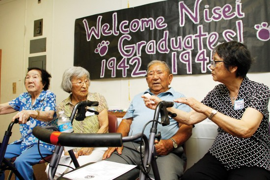 nisei grads talking
