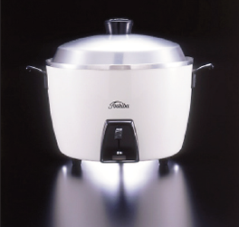 Toshiba's RC-10 rice cooker.