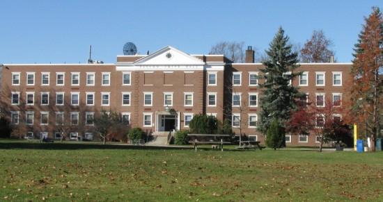 My college campus in Maine.