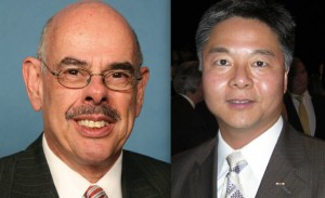 Rep. Henry Waxman and State Sen. Ted Lieu