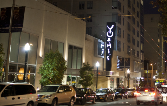 Yoshi's SF is located at