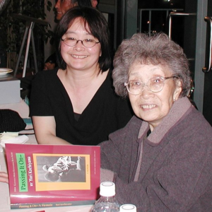 "Yuri Kochiyama with her daughter Audee Kochiyama-Holman, who co-edited her memoir, ""Passing It On."" (UCLA)"