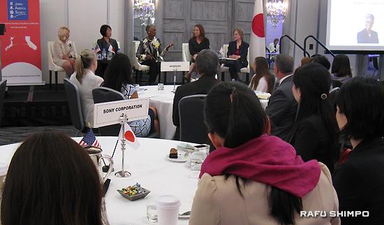 南加日米協会が主催した「働く女性のリーダーシップ向上イニシアティブ」の第1回目の会合