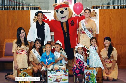 Winners at the 2013 Nisei Week Baby Show. (MARIO G. REYES/Rafu Shimpo)