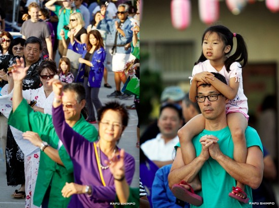 Dancers of all ages and from temples across the region participated.