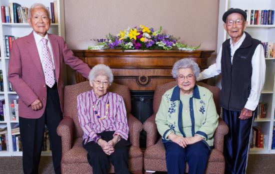 fresno centenarians