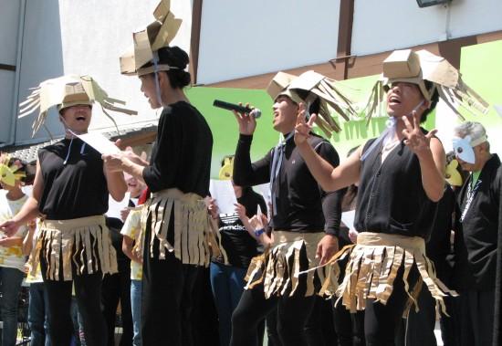 "The San Francisco Beach Boys performed ""The Lion King."""