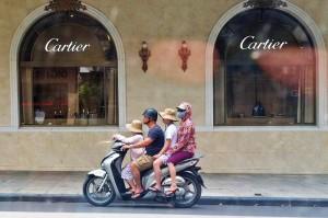 motorbike multiple riders RGB