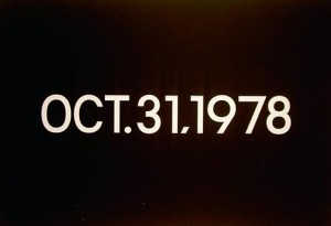 "One of On Kawara's ""Today"" series date paintings at the Art Institute of Chicago."
