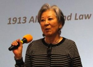 Rose Ochi, who was involved in Manzanar's designation as a historic site.