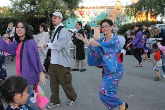 A scene from San Luis Obispo Buddhist Temple's 2012 Obon. (SLOBT photo)