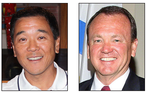 Paul Tanaka and Jim McDonnell