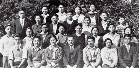 Pasadena Junior College's Triple J Club in 1935.