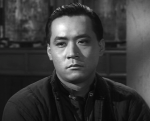 "James Shigeta as a Chinese immigrant in ""Walk Like a Dragon."""