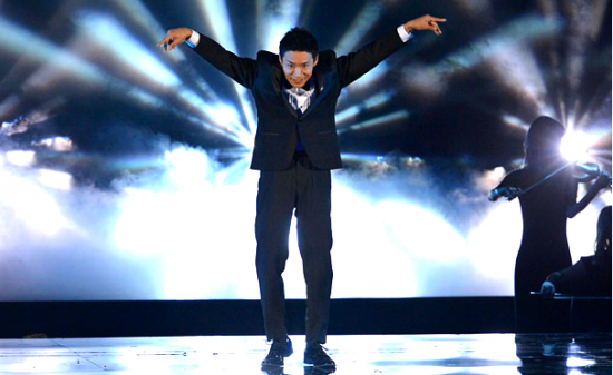 "Kenichi Ebina on ""America's Got Talent."" (NBC)"
