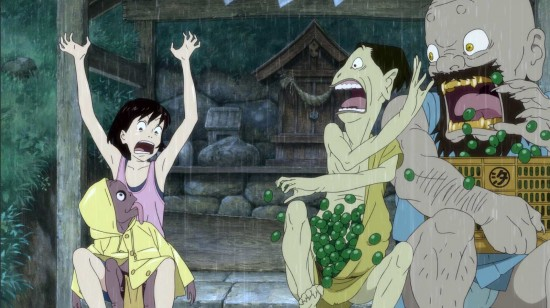 "A scene from ""A Letter to Momo."""