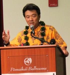 Lt. Gov. Shan Tsutsui
