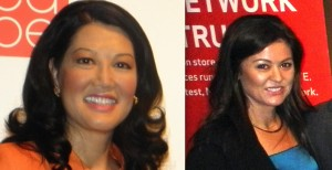 Wenda Fong and Jennifer Sanderson