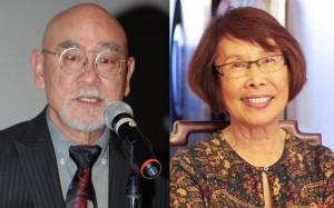 Hiroshi Shimizu and Kinu Iwamoto