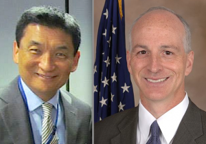 Bill Imada and Rep. Adam Smith