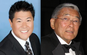 Mike Inouye and Norman Mineta