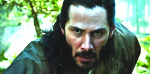 """Keanu Reeves in """"47 Ronin"""" (2013)."""