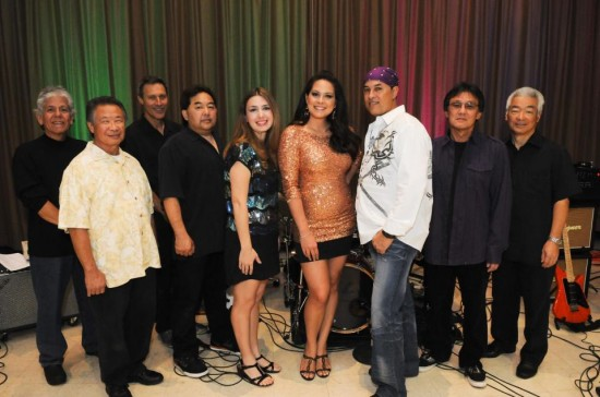 Kokoro band members (from left) Jesse Acuna, Wayne Horino, Gary Lieback, Glenn Nishida, Jennifer Cella, Lauren Wong, Stephen Santiago, Michael Chung, Wayne Nagao. (Photo courtesy of Kokoro)