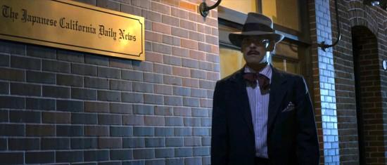 "Chris Tashima as Sei Fujii in a scene from ""Lil Tokyo Reporter."""
