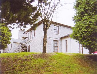 英国アバディーンにある旧グラバー家。長沢鼎の部屋は、左側2階(渡辺さん撮影)