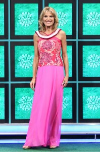 "Vanna White will be wearing Anne Namba's designs in the Nov. 3, 4 and 5 broadcasts of ""Wheel of Fortune."""