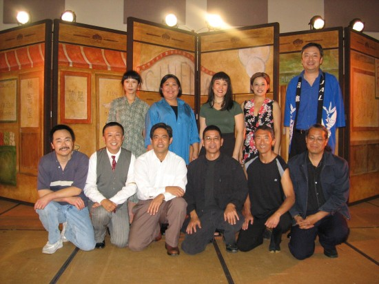 "The Grateful Crane Ensemble performed ""Nihonmachi: The Place to Be"" at the Japanese Cultural and Community Center of Northern California in San Francisco in 2006. (Hokubei Mainichi)"