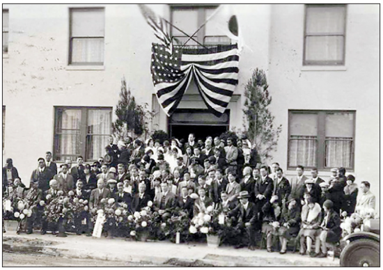 he Japanese Hospital of Los Angeles, located in Boyle Heights on First and Fickett streets.