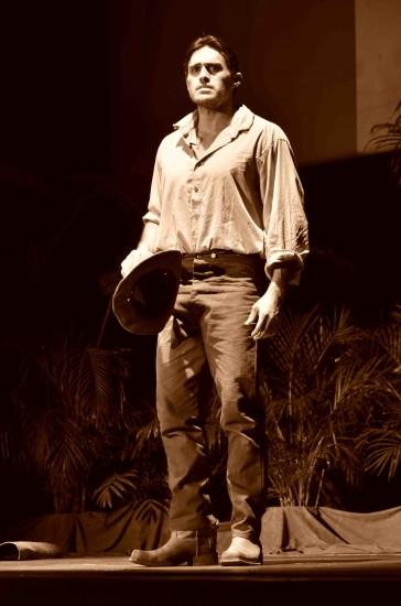 USC graduate Moronai Kanakoa stars as Kalauaiko'olau. (Courtesy Alfred Darling)