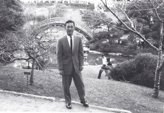 James Mitsumori in Japan.