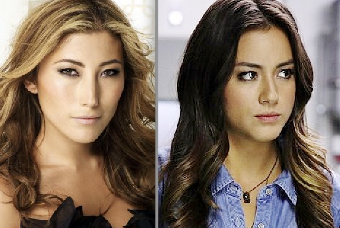 Dichen Lachman and chloe bennet