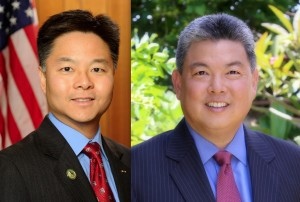 Ted Lieu and Mark Takai
