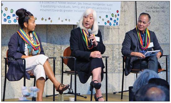 Okaeri panelists Marie Morohoshi, Mia Yamamoto and Gary Hayashi discuss their experiences.