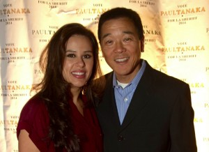 Paul Tanaka and his wife Valerie