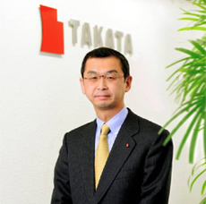 Takata Chairman and CEO Shigemasa Takada