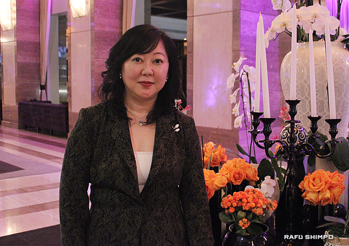 ロサンゼルスのインターコンチネンタルホテルをはじめ、日本の17か所のホテルを経営する三好社長