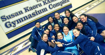 In the sports complex named after her mother, North head coach Lauren Kamiyama is hugged by her team, a young yet solid squad that went into the Christmas holiday weekend undefeated.
